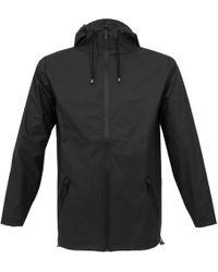 Rains - Breaker Black Jacket - Lyst