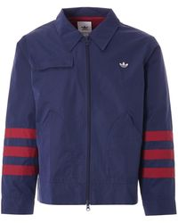 adidas Originals Trefoil Jacket - Blue
