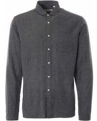 Oliver Spencer Eton Collar Barnham Shirt - Grey