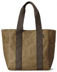 Filson - Medium Grab 'n' Go Tote Bag - Dark Tan & Brown - Lyst