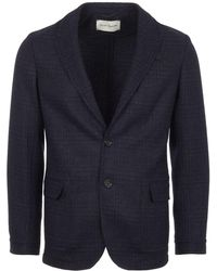 Oliver Spencer - Midnight Blue Brookes Jacket - Lyst