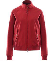 Baracuta Womens G9 Harrington Jacket - Red