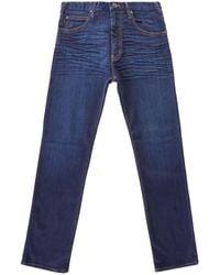 Emporio Armani J45 Regular Fit Jeans - Blue