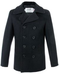 Schott Nyc - Us 740n Peacoat Navy Jacket - Lyst