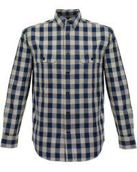 Filson - Khaki Lightweight Kitsap Work Shirt - Lyst