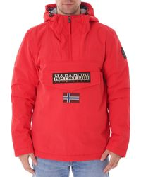 Napapijri Rainforest Winter Jacket - Pop Red