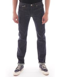 A.P.C. - Petit Standard Jeans - Indigo - Lyst