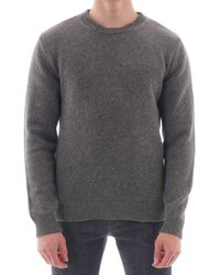 A.P.C. Down Sweater - Gris Chine - Gray