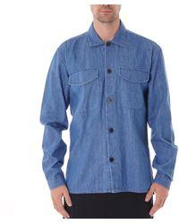 Oliver Spencer Eltham Shirt - Blue
