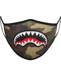 Sprayground Sharkmouth Form-fitting Face Mask - Multicolor