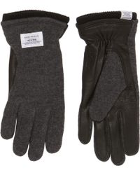 Norse Projects - Charcoal Grey Svante Gloves - Lyst