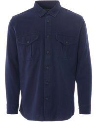 Filson Lightweight Alaskan Guide Shirt - Blue
