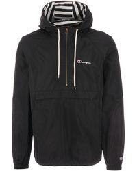 Champion Popover Jacket - Black