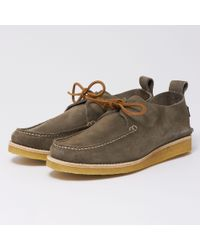 Yogi - Lawson Suede Shoes - Charcoal - Lyst