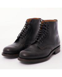 Cheaney - Jarrow Derby Boot - Black Chromexcel Leather - Lyst