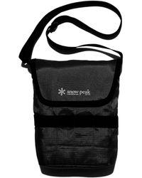 Snow Peak Mini Shoulder Bag - Black