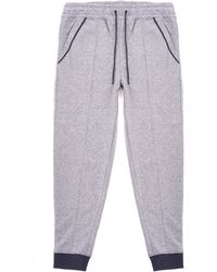 BOSS Heritage Two-colour Track Trousers - Medium Grey - Gray