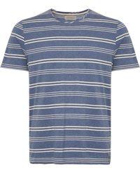 Oliver Spencer Austen Sky Blue Conduit T-shirt Osmk580-aus01sky Colour