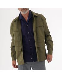 Universal Works Mw Fatigue Jacket - Green