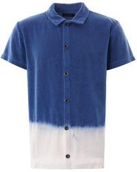 Howlin' By Morrison Howlin' Light Flight Terry Shirt - Blue