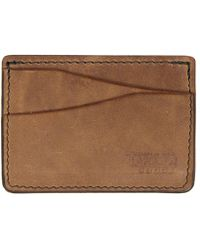 Tanner Goods - Journeyman Light Brown Card Holder - Lyst