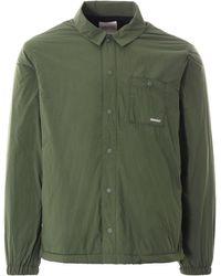 Gramicci Nylon-fleece Coach Shirt - Green