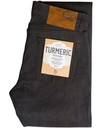 Naked & Famous Naked & Famous Turmeric Weird Guy - Blue