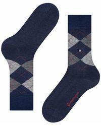 Burlington Burlington Edinburgh Socks - Blue