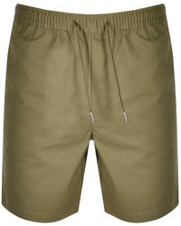 Fred Perry Twill Shorts - Green