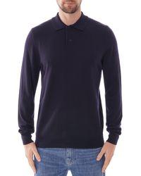 A.P.C. Jerry Polo Shirt - Blue