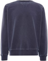 Nigel Cabourn Embroidered Arrow Crew - Blue