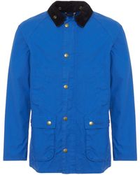 Barbour - Colbalt Washed Bedale Jacket - Lyst