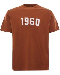 Uniform Bridge 1960 Short Sleeve Tee - Orange