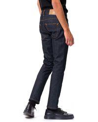 Nudie Jeans Grim Tim Dry - Blue