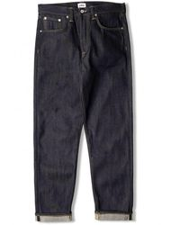 Edwin Ed-45 Loose Tapered Rainbow Selvedge Jeans - Blue