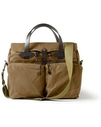 Filson - 24 Hour Tin Briefcase - Dark Tan - Lyst