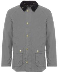 Barbour - Grey Washed Bedale - Lyst