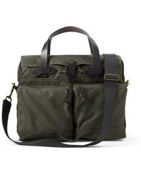 Filson - 24 Hour Tin Briefcase - Otter Green - Lyst