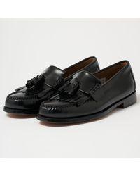 G.H.BASS Layton Ii Moc Kiltie Tassel Loafers - Black