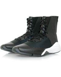 Y-3 - Future Zip High Black Boot - Lyst