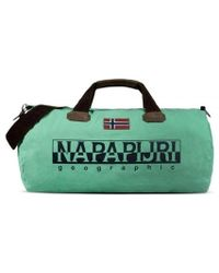 Napapijri | Bearing A Misty Jade Weekend Bag | Lyst