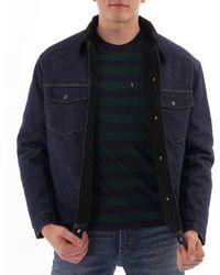 Levi's Sherpa Trucker Jacket - Black