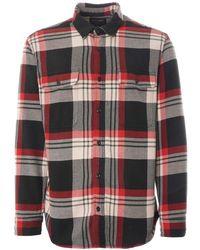 Filson Vintage Work Flannel - Red