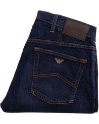 Emporio Armani - Emporio J21 Regular Fit Jeans - Lyst
