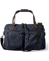 Filson 48-hour Tin Cloth Duffle Bag - Blue