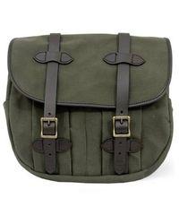 Filson Medium Rugged Twill Field Bag - Green
