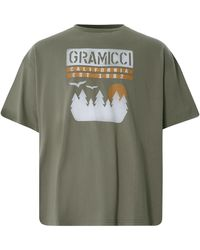 Gramicci Sunset Slit T-shirt - Green