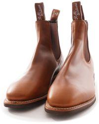 R.M.Williams Rm Williams Comfort Craftsman Boot - Brown