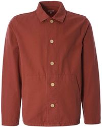 Armor Lux Heritage Fishermans Jacket - Red
