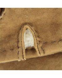 Dents Handsewn Camel Lambskin Glove 5-1553 - Natural
